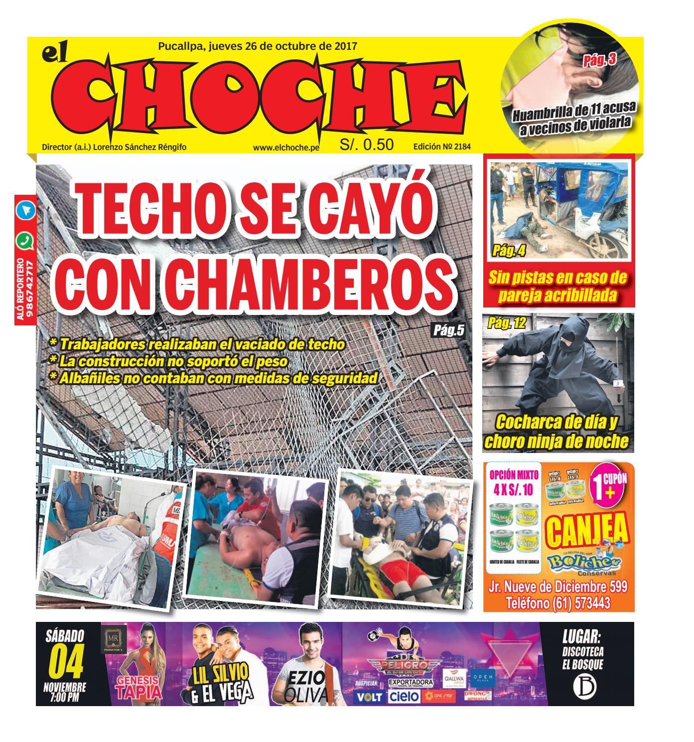 El choche 26 de octubre de 2017 by Diario El Choche issuu