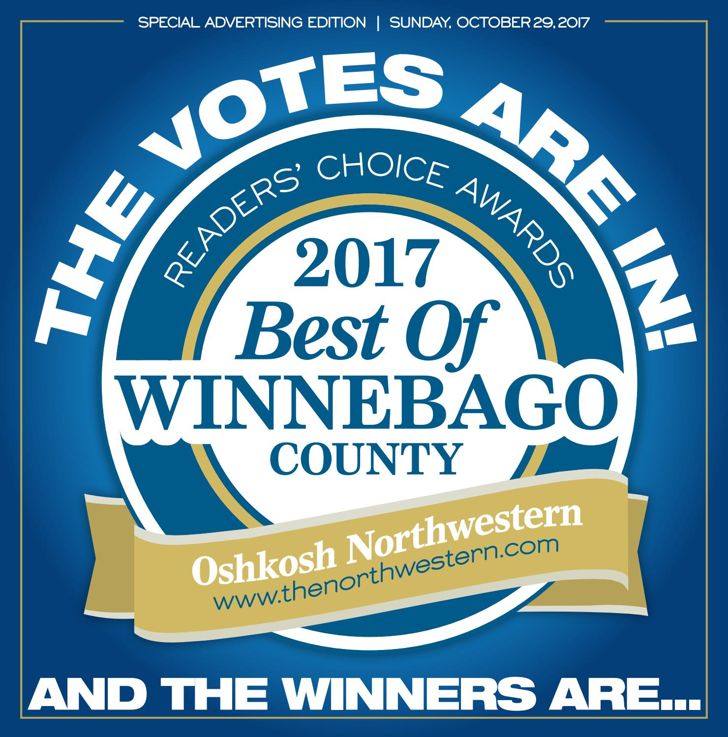2017 Best of Winnebago County Results Tab by Gannett Wisconsin Media ...