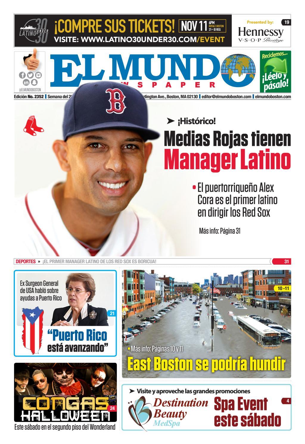 El Mundo Boston | Newspaper | Oct 26, 2017 by El Mundo Boston ...