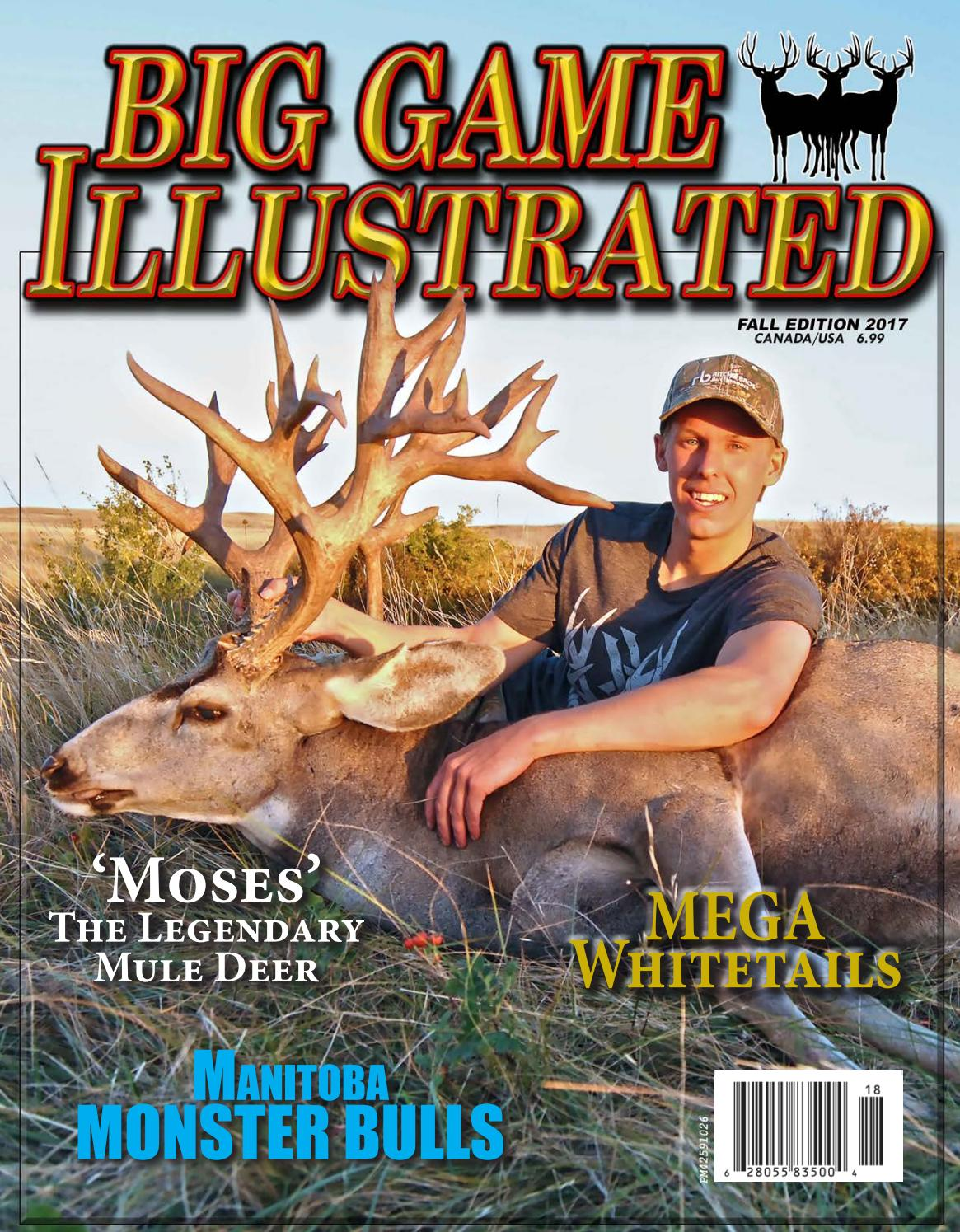 318acb22a995a Copy Big Game Illustrated Summer 2017 - Issue 17 by Big Game ...