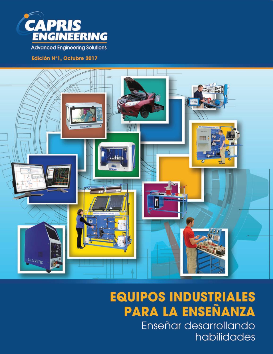 Catalogo capris eng Oct 2017 Equipos Industriales para la Enseñanza ...