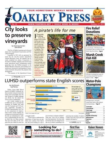 Oakley Press 10 27 17 by Brentwood Press & Publishing - issuu