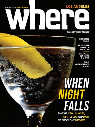 Where Los Angeles Magazine November 2017 By Socalmedia Issuu