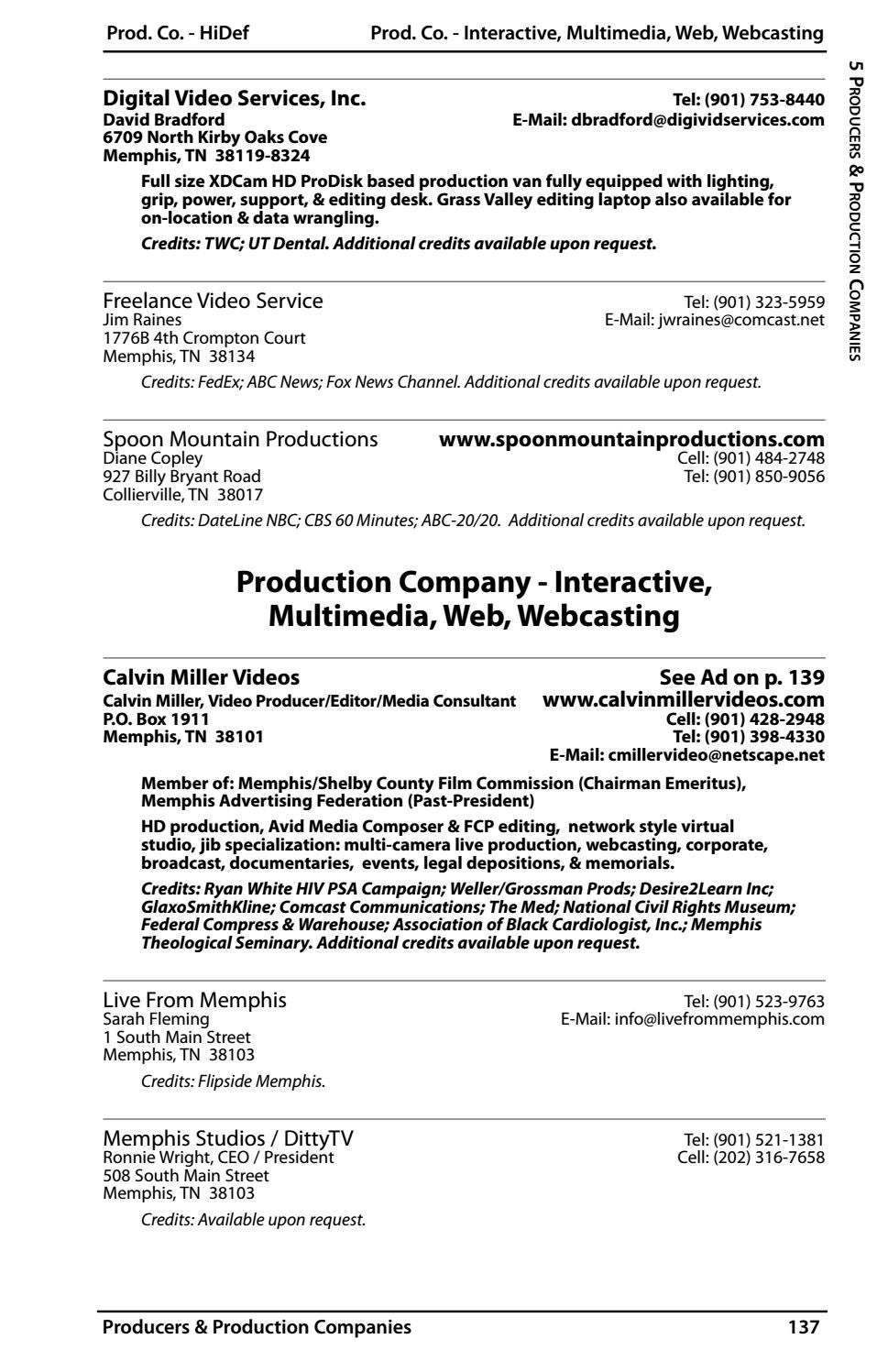 Memphis & Shelby County Film/TV Commission Production