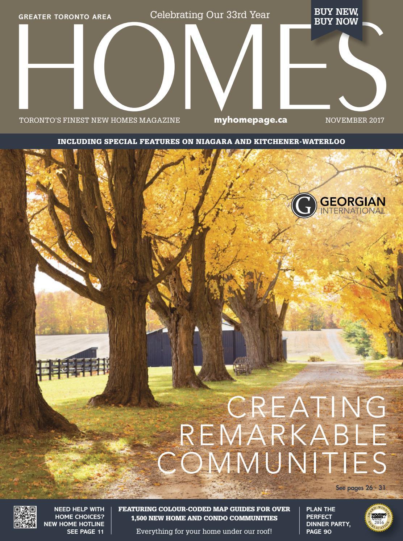 HOMES Magazine - November 2017 by HOMES Publishing Group - issuu