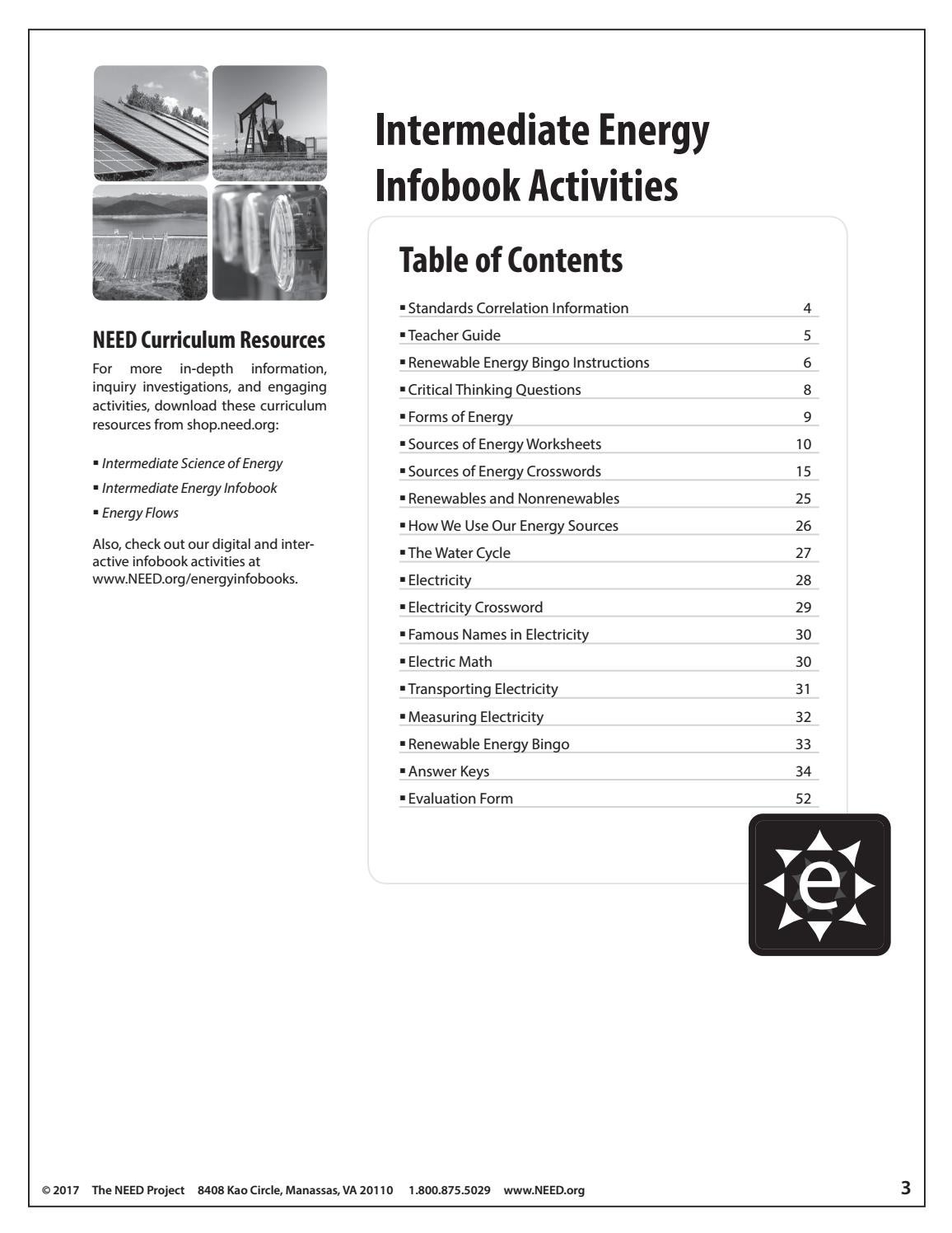 Intermediate Energy Infobook Activities By Need Project Issuu [ 1496 x 1156 Pixel ]