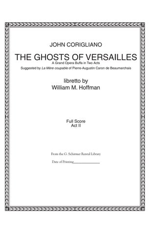 Corigliano GHOSTS OF VERSAILLES 44a87c95c8234
