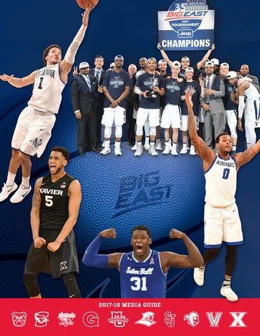 9796f2b858c7 2017-18 BIG EAST Men s Basketball Media Guide by BIG EAST Conference ...