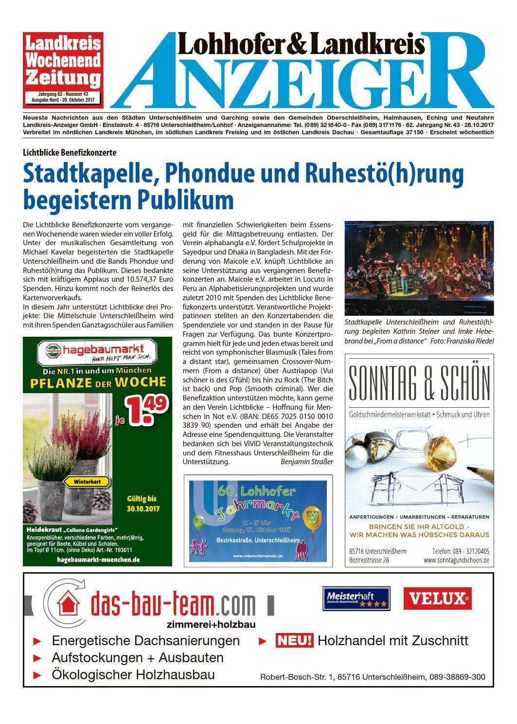 6055921a82ef2 Lohhofer   Landkreis Anzeiger 4317 by Zimmermann GmbH Druck   Verlag - issuu