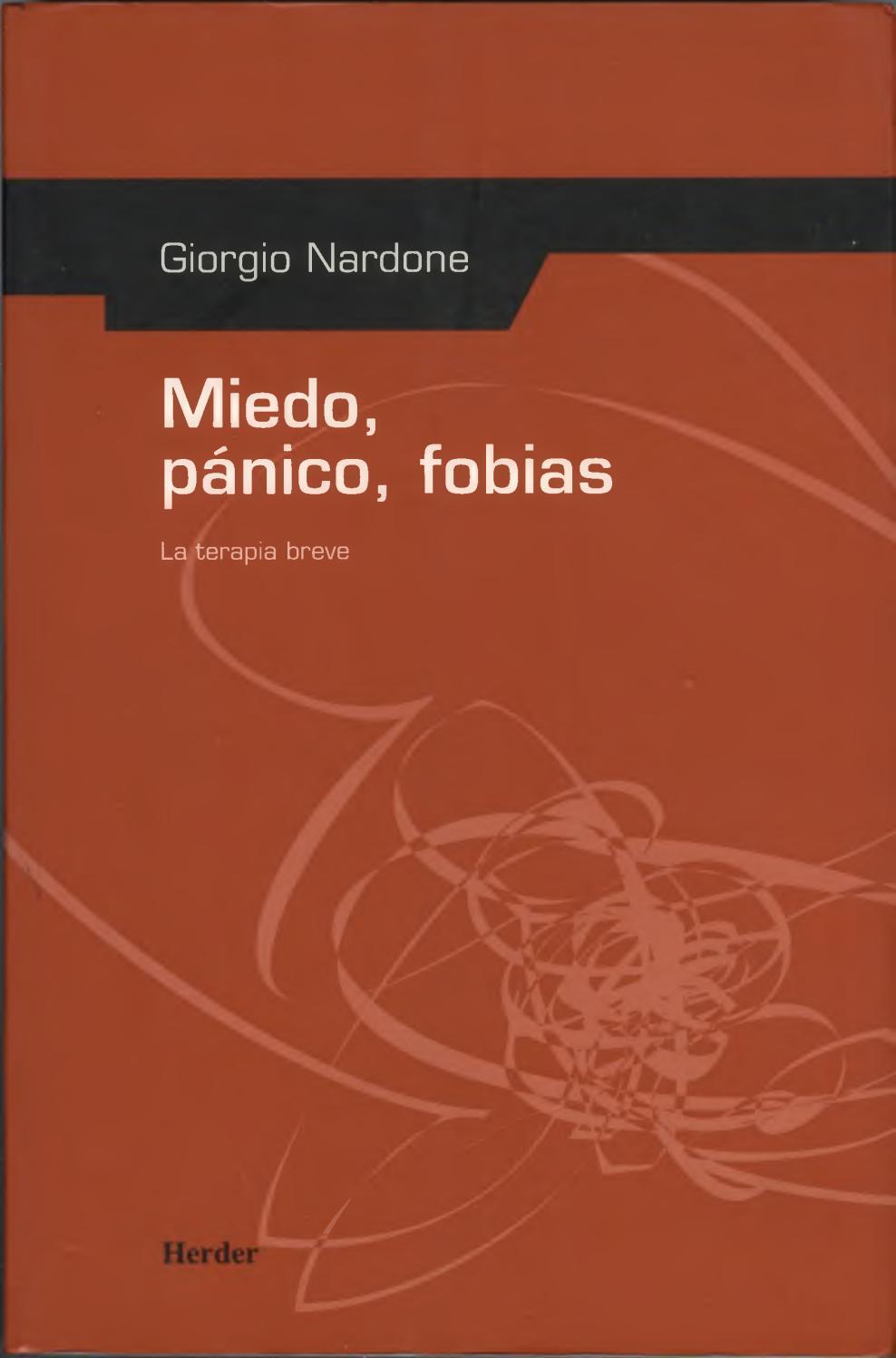Giorgio nardone miedo pánico fobias la terapia breve by ...