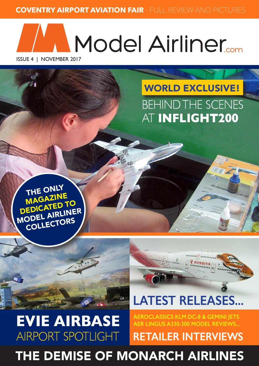 New /& Boxed First Choice Airways Airbus A320 /& A321 Push Fit Models