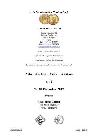 0fcf449fe2 Asta Numismatica Ranieri n. 12 by Numismatica Ranieri - issuu