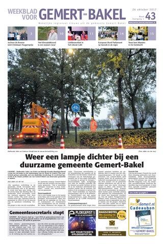 Boerenbond Dekens Wassen.Weekblad Voor Gemer Bakel Wk43 By Das Publishers Issuu
