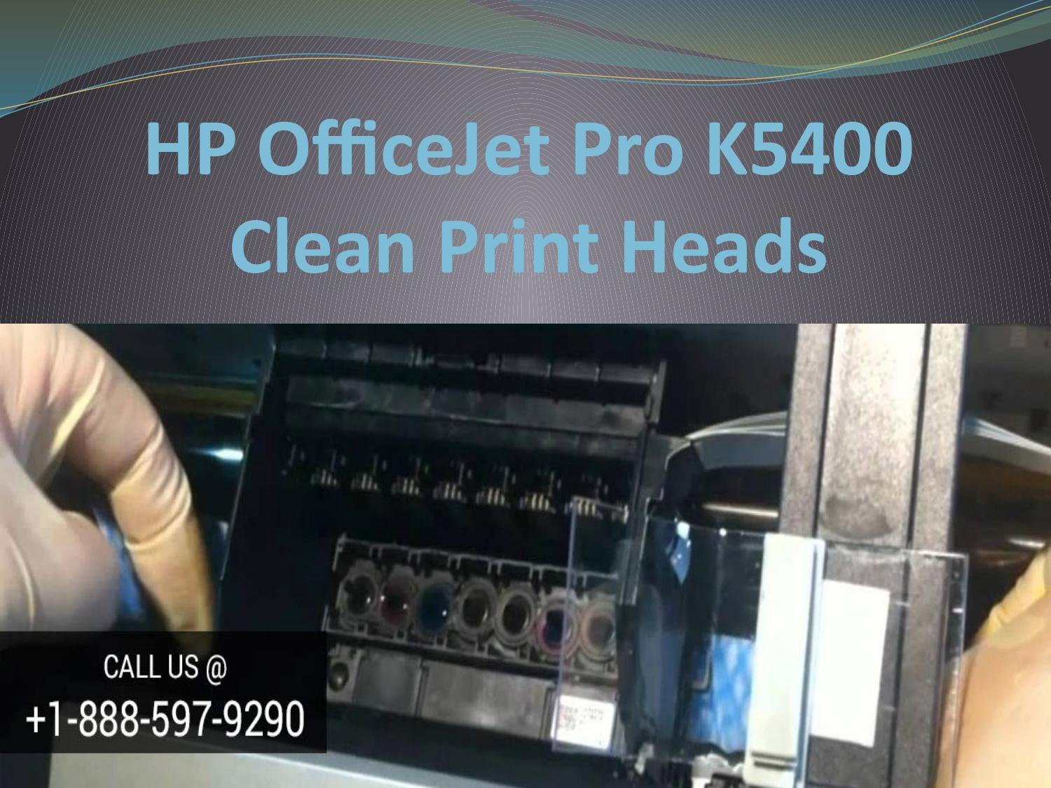 How to solve issues of HP OfficeJet Pro K5400 clean print heads? by  123hpcomoj4650 - issuu