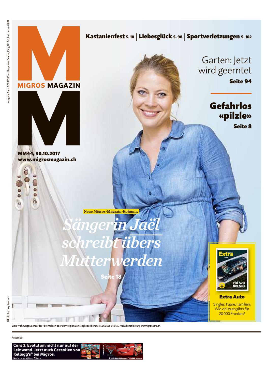 Migros magazin 44 2017 d aa by Migros Genossenschafts Bund