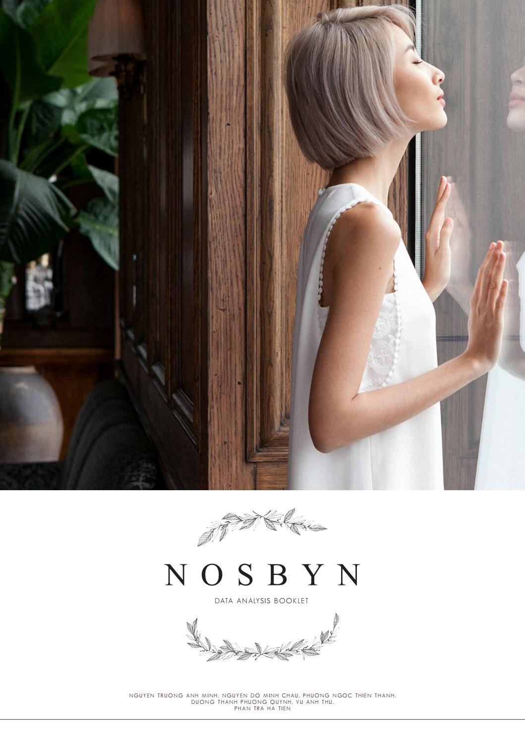 MARKET RESEARCH DATA ANALYSIS FOR NOSBYN by Thư Vũ - issuu