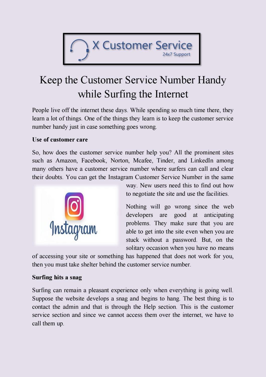 instagram customer service number by sagar rana - issuu