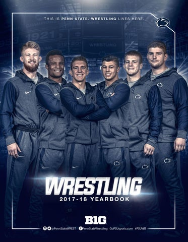 Penn State Wrestling 2017 18 Yearbook By Penn State
