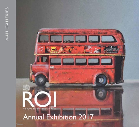 Royal Institute of Oil Painters Annual Exhibition 2017 by