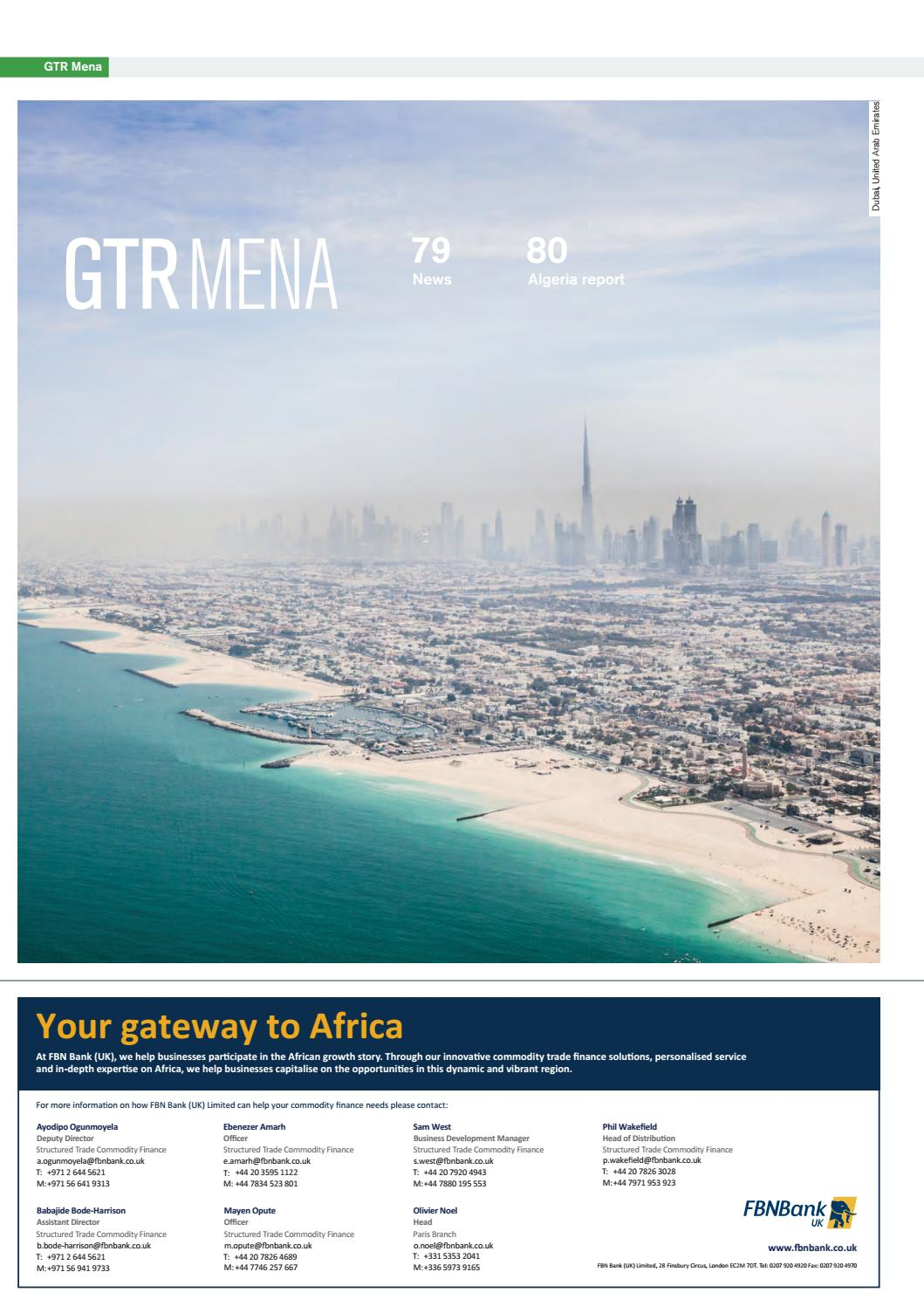 November/December 2016 issue by Global Trade Review - issuu