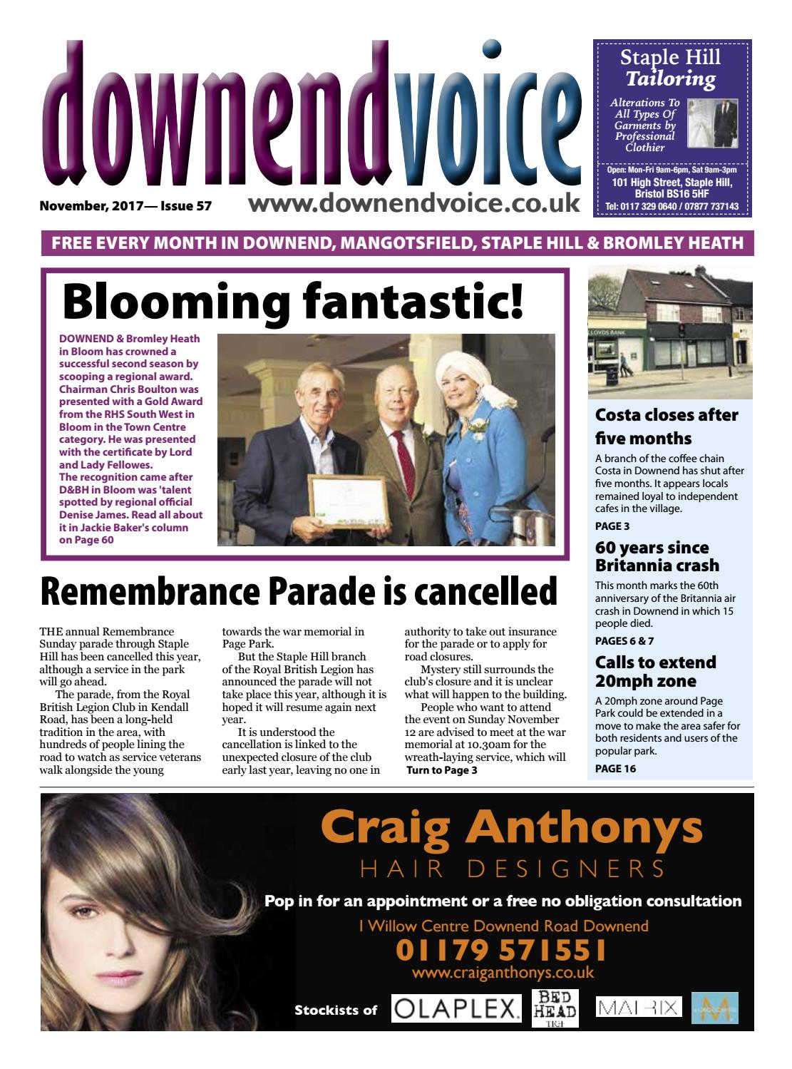 Downend Voice November 2017 By Gary Brindle Issuu Andrew Smith Blue Jeans Biru 38