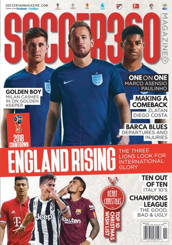 d27b440c3 Soccer 360 Magazine Issue 72 November   December 2017 by Soccer 360 ...