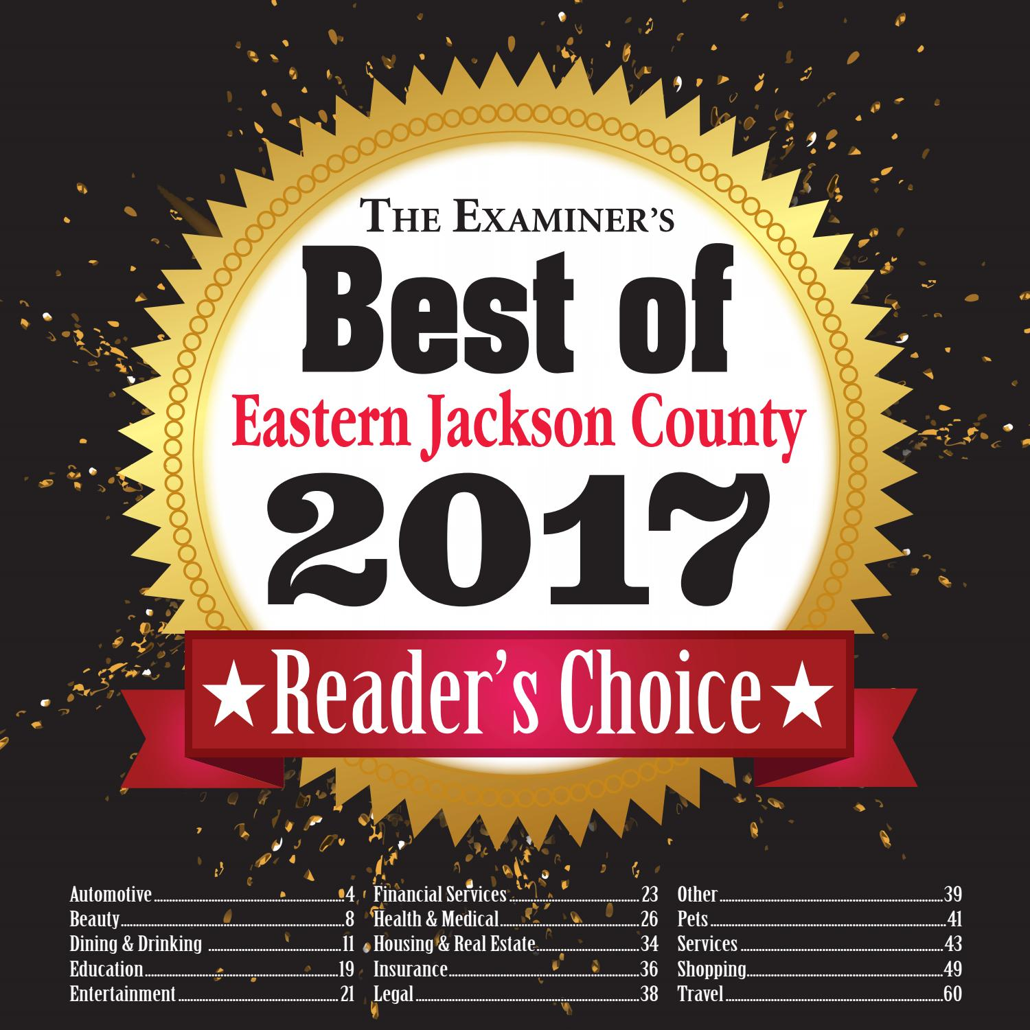 Best of eastern jackson county by the examiner issuu aiddatafo Choice Image
