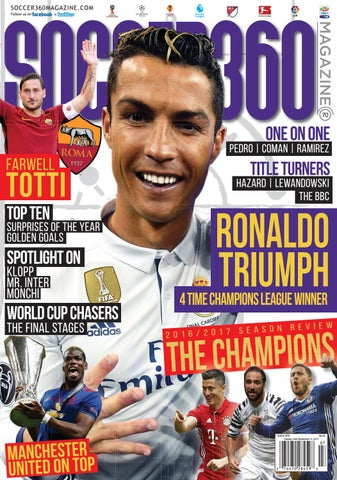 503af23dcd08a Soccer 360 Magazine Issue 70 July / August 2017 by Soccer 360 ...