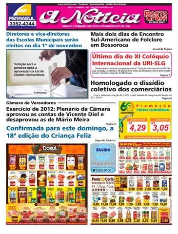 e87165b20a Edição de 28 e 29 de outubro de 2017 by Jornal A Notícia - issuu