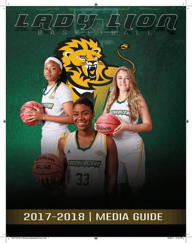 2017 18 Southeastern Louisiana Womens Basketball Media Guide By