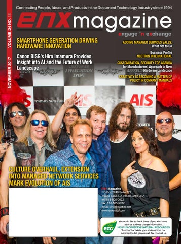 ENX Magazine November 2017 Issue by ENX Magazine - issuu