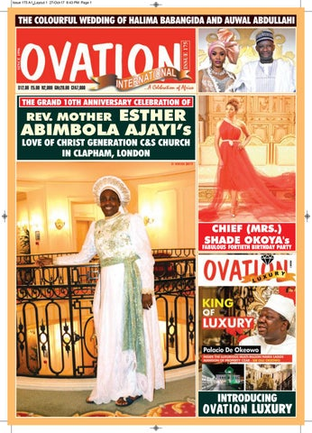 Ovation magazine issue 175 by t2eOvation - issuu