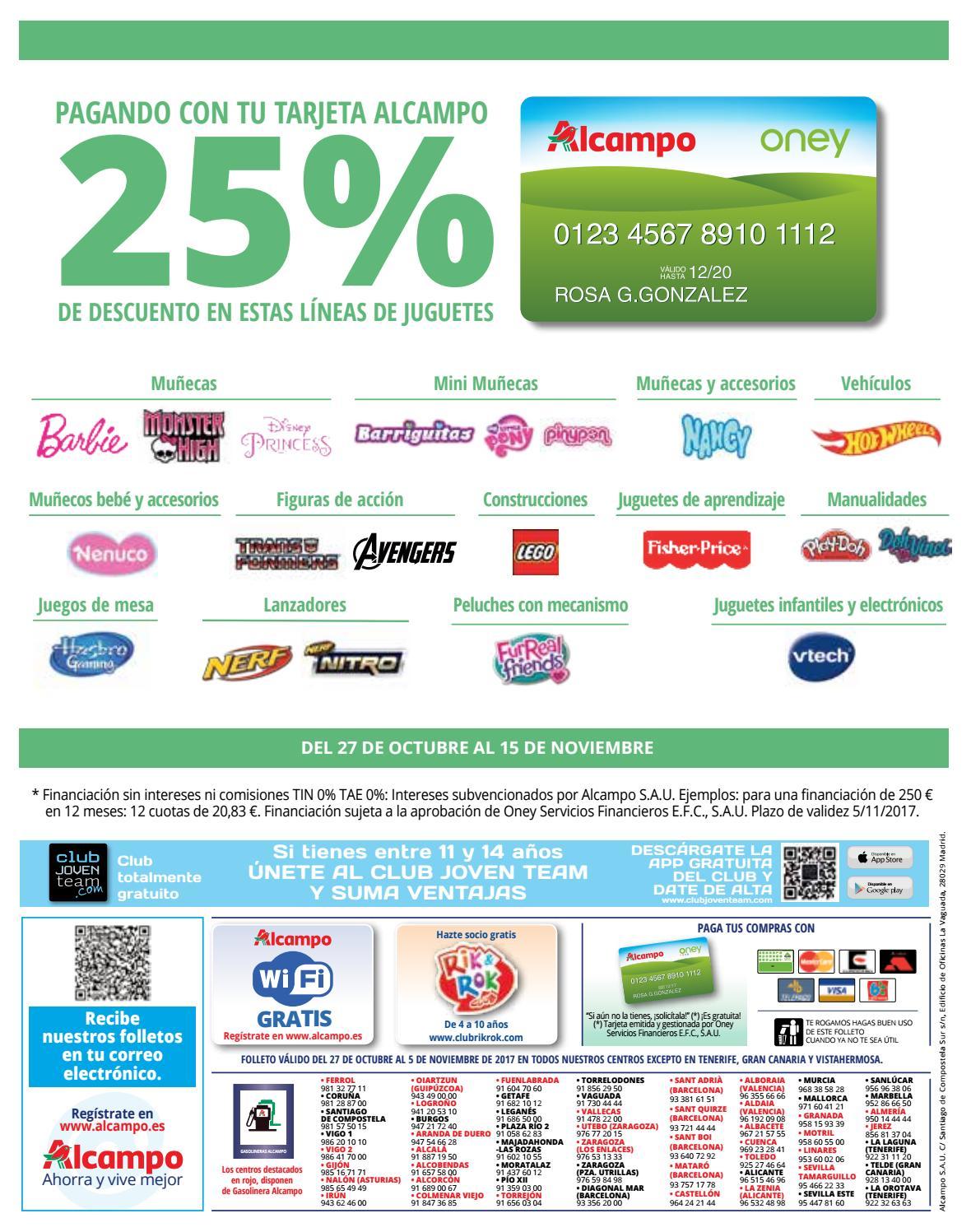 25 Dias Alcampo By Ofertas Supermercados Issuu