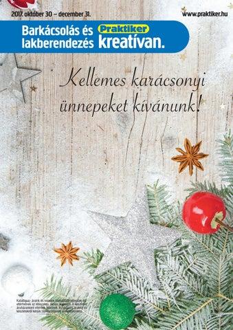 Karácsonyi ajánlatunk 2017 by Praktiker - issuu 71517130e1