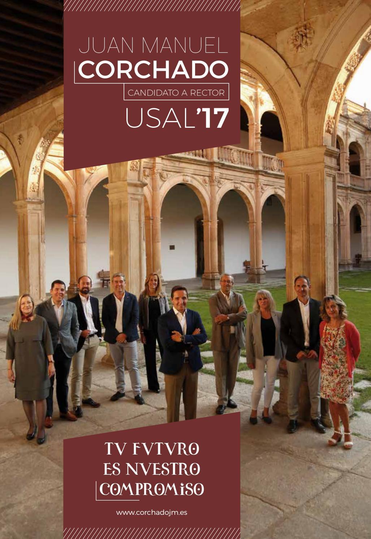 Programa electoral - Candidatura a rector de Juan Manuel ...