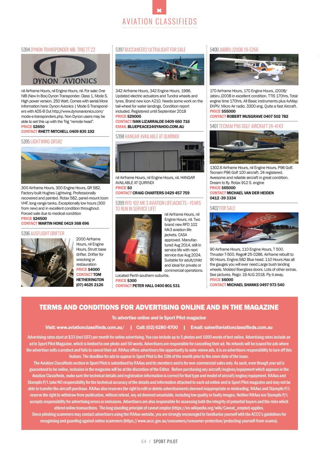 Sport pilot 75 nov 2017 by Recreational Aviation Australia