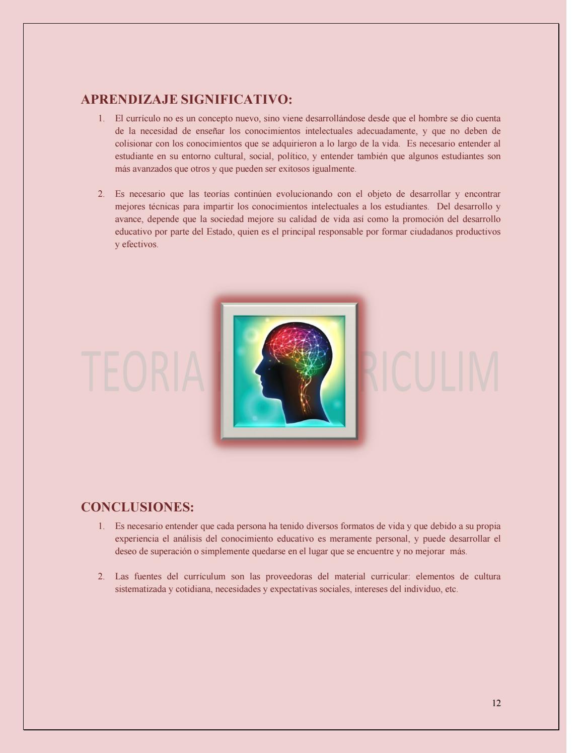 Libro electronico curriculum de la educacion superior by Carolina ...