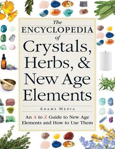 Page 1 of The Encyclopedia of Crystals, Herbs, and New Age Elements