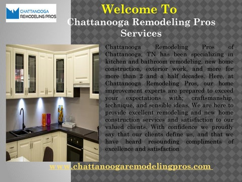 Kitchen Remodel Chattanooga TN By Chattanooga Remodeling Pros Issuu - Kitchen remodeling chattanooga tn