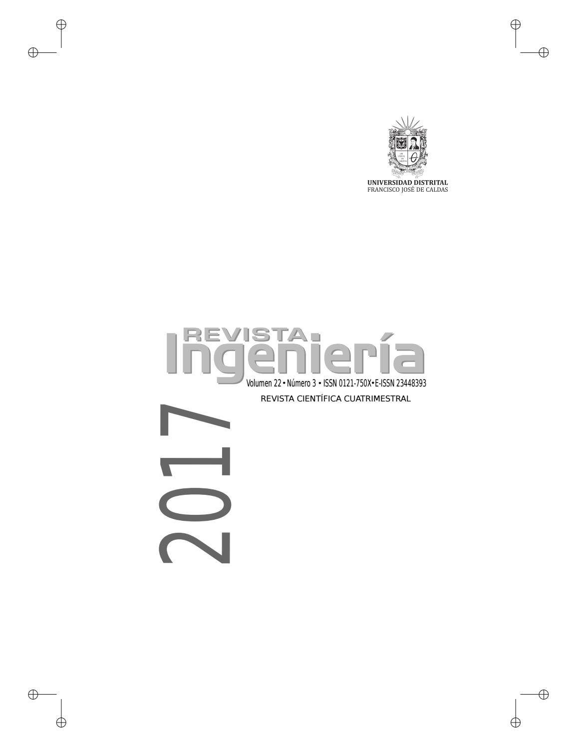revista ingeniería vol 22 by camiloAranguren - issuu