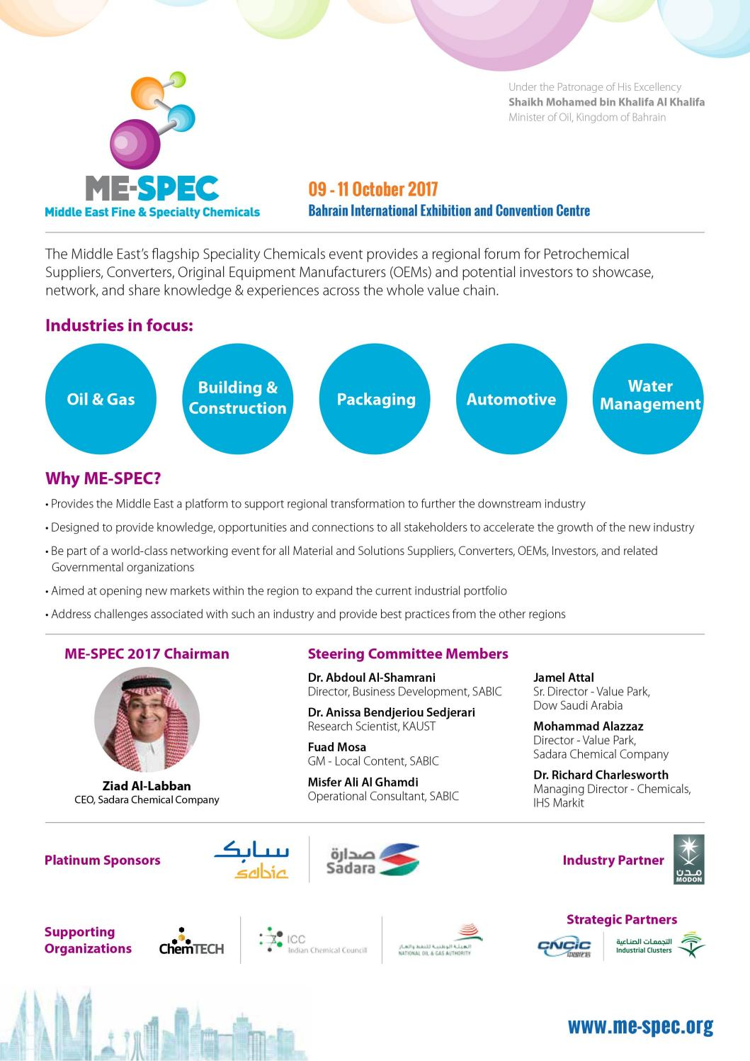 Middle East Fine & Speciality Chemicals 2017 by Hannah