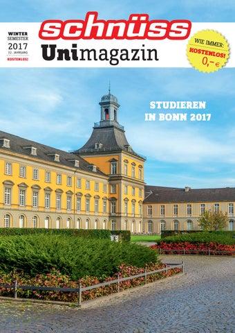 Schnuss Unimagazin 2017 Winter Semester By Schnuss Das Bonner