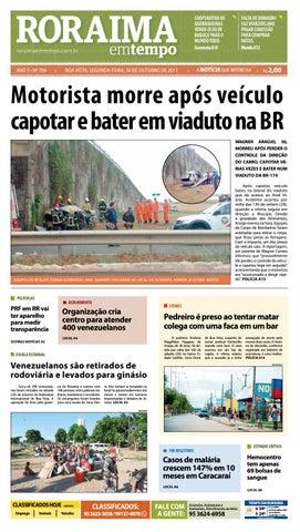 4886aaddd Jornal roraima em tempo – edição 769 by RoraimaEmTempo - issuu