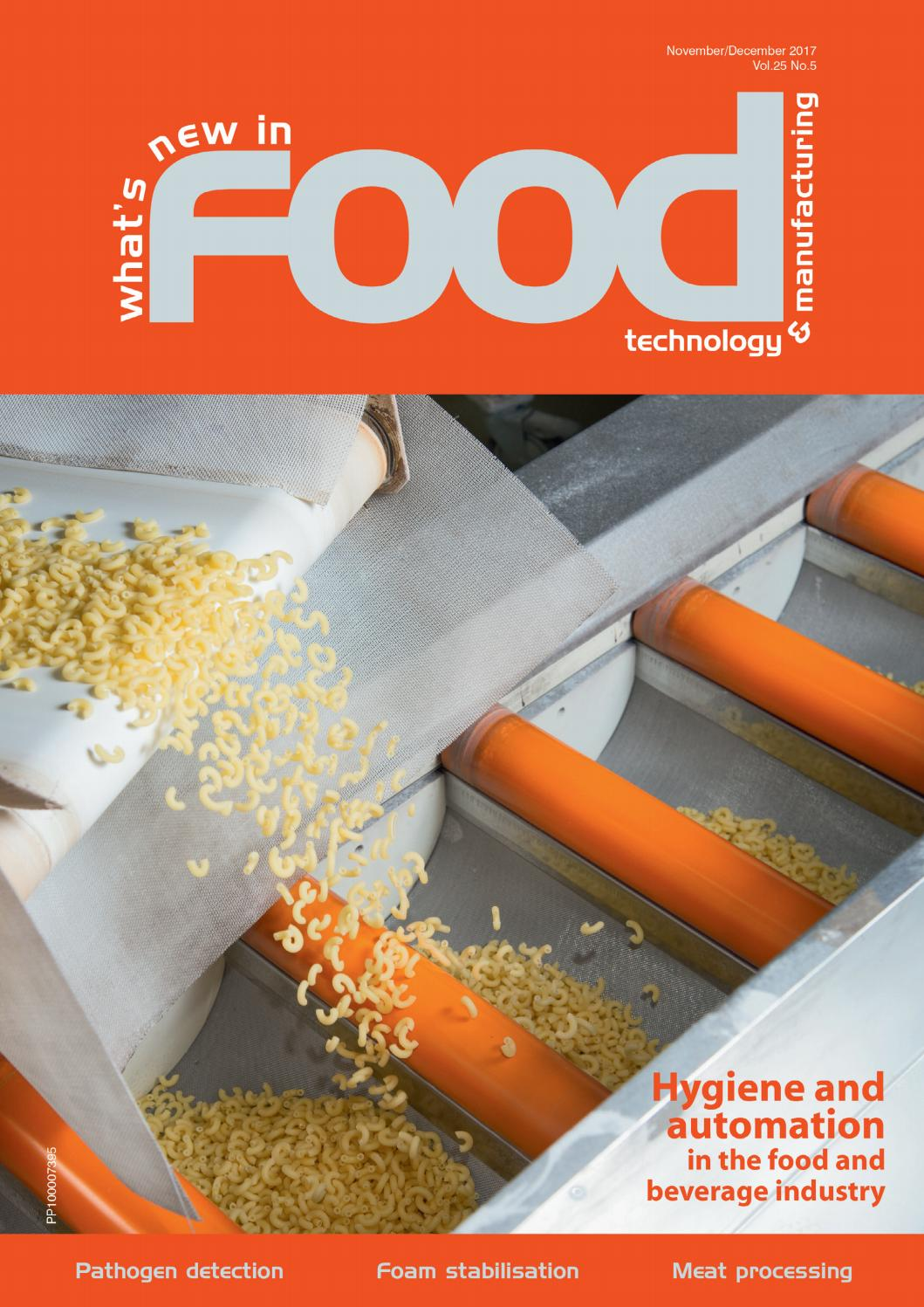Whats New In Food Technology Manufacturing Nov Dec 2017 By Playstation Console39s Printed Circuit Board Ready For Rework Repair Westwick Farrow Media Issuu