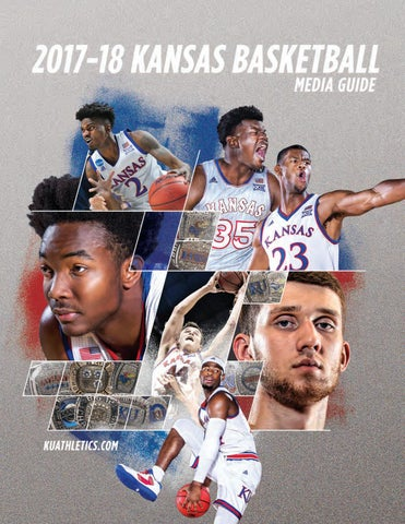 b7eff6988 2017-18 Kansas Men s Basketball Media Guide by Kansas Jayhawks - issuu