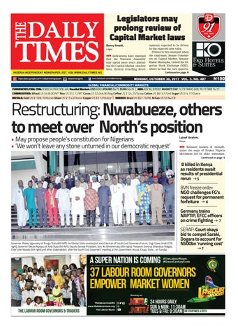Dtn 30 10 17 by Daily Times of Nigeria - issuu