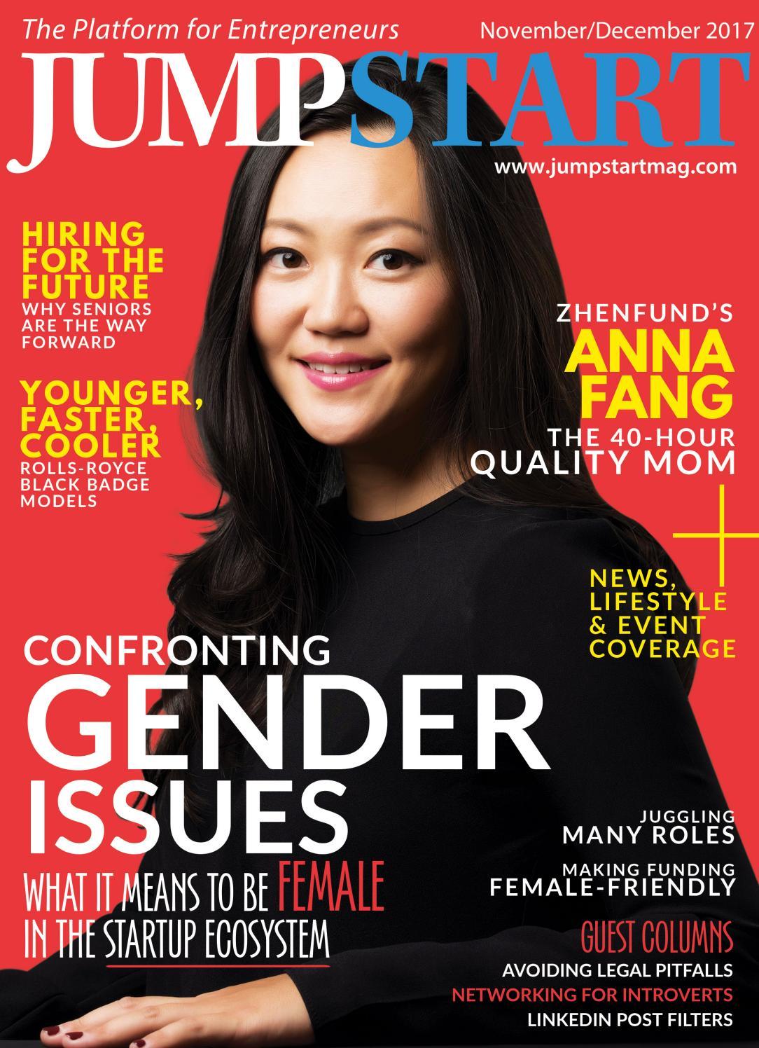 Startup Magazine of Hong Kong: Jumpstart Issue 18 (November/December