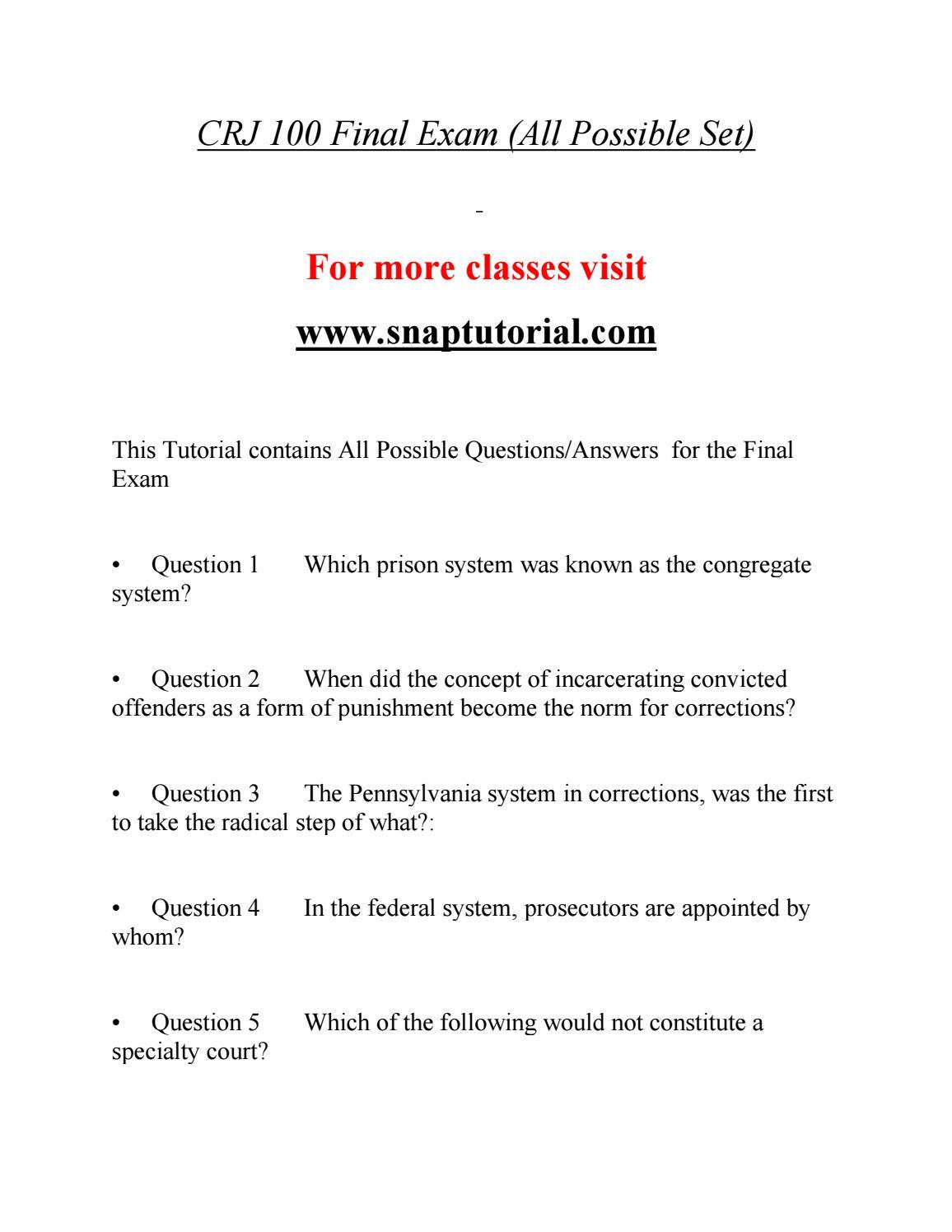 crj 110 final exam