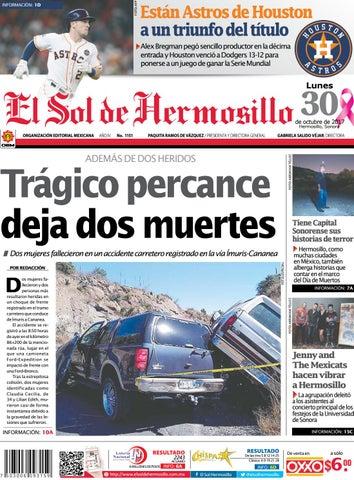 Edicion impresa 30 octubre by El Sol de Hermosillo - issuu 80eb3c75f1c
