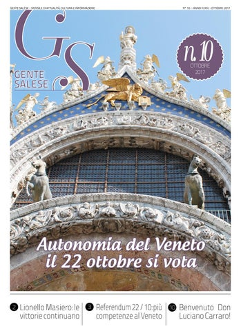 Gs Ottobre 2017 By Stefano Luise Issuu